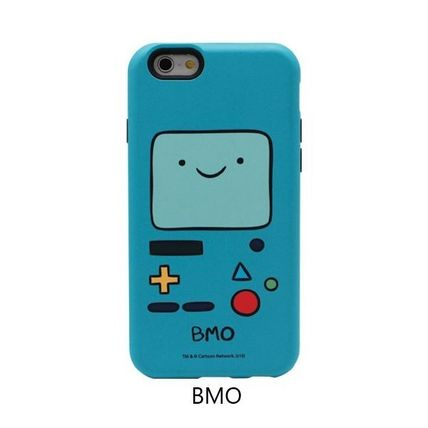 スマホケース・テックアクセサリー [ADVENTURE TIME] FINN&JAKE CHARACTER TOUGH IPHONE CASE(4)