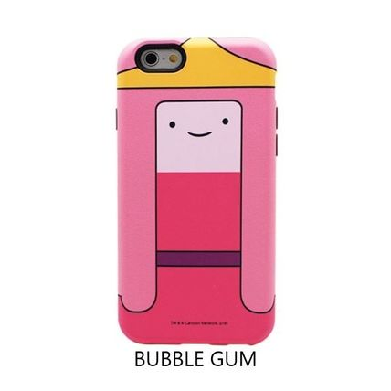 スマホケース・テックアクセサリー [ADVENTURE TIME] FINN&JAKE CHARACTER TOUGH IPHONE CASE(5)