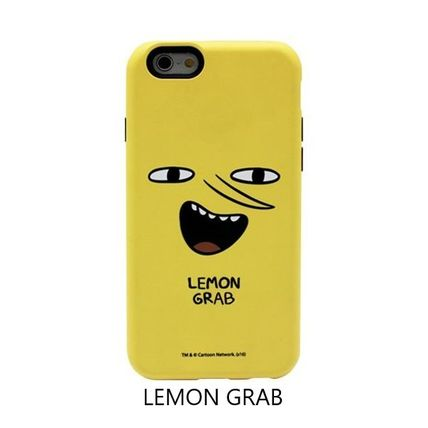 スマホケース・テックアクセサリー [ADVENTURE TIME] FINN&JAKE CHARACTER TOUGH IPHONE CASE(6)