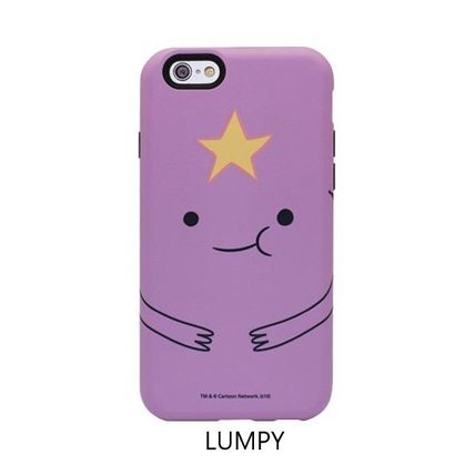 スマホケース・テックアクセサリー [ADVENTURE TIME] FINN&JAKE CHARACTER TOUGH IPHONE CASE(7)