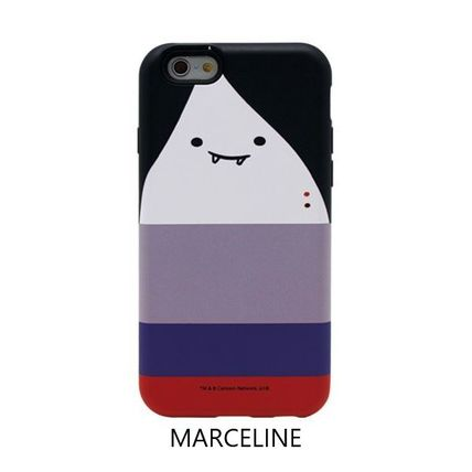 スマホケース・テックアクセサリー [ADVENTURE TIME] FINN&JAKE CHARACTER TOUGH IPHONE CASE(8)