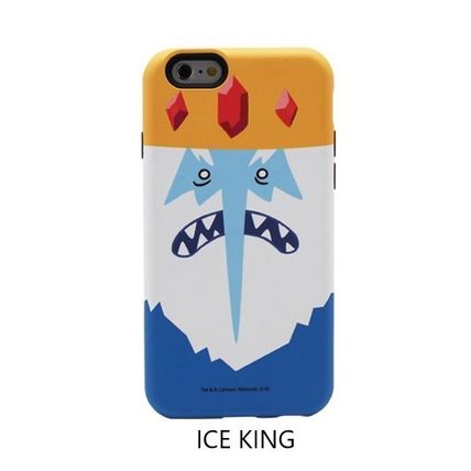 スマホケース・テックアクセサリー [ADVENTURE TIME] FINN&JAKE CHARACTER TOUGH IPHONE CASE(9)