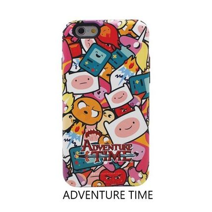 スマホケース・テックアクセサリー [ADVENTURE TIME] FINN&JAKE CHARACTER TOUGH IPHONE CASE(10)