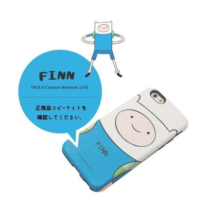 スマホケース・テックアクセサリー [ADVENTURE TIME] FINN&JAKE CHARACTER TOUGH IPHONE CASE(11)