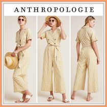 19SS!! 日本未入荷!!☆Anthropologie☆Double-Breasted Jumpsuit