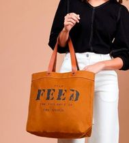 FEED(フィード) トートバッグ 国内発送 FEED*キャンバス HARRIET トートバッグ