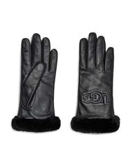 CLASSIC LEATHER LOGO GLOVE UGG 手袋 セール