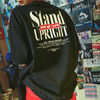 BURIED ALIVE Tシャツ・カットソー 韓国 [BURIEDALIVE] BA X FLUSH STAND-UPRIGHT T-SHIRT 全3色(3)