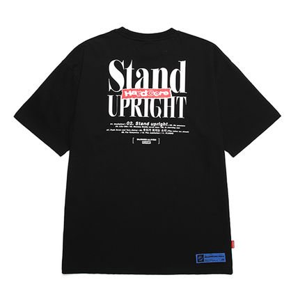 BURIED ALIVE Tシャツ・カットソー 韓国 [BURIEDALIVE] BA X FLUSH STAND-UPRIGHT T-SHIRT 全3色(9)