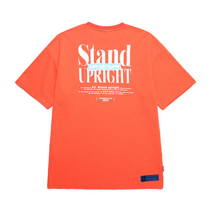 BURIED ALIVE Tシャツ・カットソー 韓国 [BURIEDALIVE] BA X FLUSH STAND-UPRIGHT T-SHIRT 全3色(11)