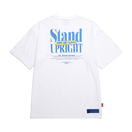 BURIED ALIVE Tシャツ・カットソー 韓国 [BURIEDALIVE] BA X FLUSH STAND-UPRIGHT T-SHIRT 全3色(13)