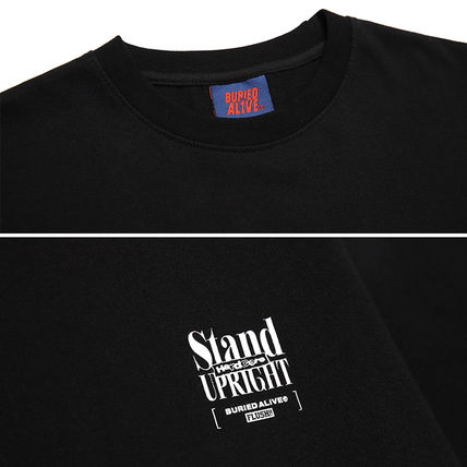 BURIED ALIVE Tシャツ・カットソー 韓国 [BURIEDALIVE] BA X FLUSH STAND-UPRIGHT T-SHIRT 全3色(14)