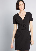 Situated to the Side Sheath Dress