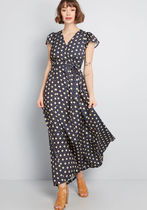 Exchanging Introductions Maxi Dress