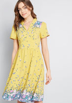 Lively Identity Short Sleeve Dress