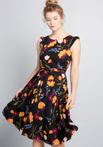 Certainly Earned Floral Dress