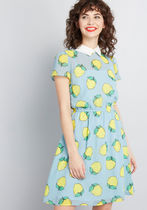 Your Lively Side Collared Dress