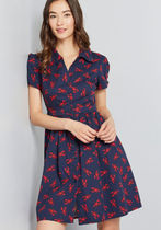 Summer School Cool Shirt Dress