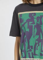 [Acne] Esmeta Printed T-shirt washed black 70年代風Tシャツ