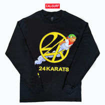 【日本未発売】24karat x hebrubrantley コラボ L/S TEE