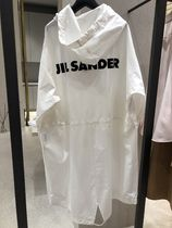【Jil Sander】2019SS新作 ESSENTIALS PARKA BACK LOGO (White)