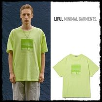 韓国発日本未入荷★LIFUL★SOSSUSVLEI GRAPHIC TEE yellow lime