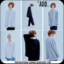 [ADD SEOUL] ★19'SS NEW★DEFINITION LONG SLEEVED TEE
