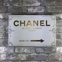 Oliver Gal 大きめ 76x51cm Couture Road Sign Rococo アート