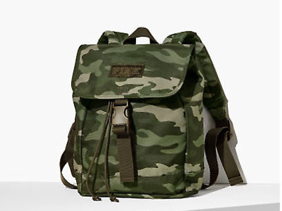 PINK☆ 迷彩柄 ミニリュック SPORT CLIP BACKPACK/ Green Camo