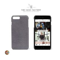 THE CASE FACTORY ☆iPhone ケース☆iPhone 7,8プラス☆レザー☆