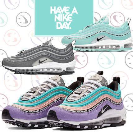 """Nike キッズスニーカー 【大人もOK!関税なし】NIKE AIR MAX 97 """"Have A Nike Day"""""""