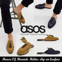 ASOS◆House Of Hounds Helios slip on loafers◆スエード素材