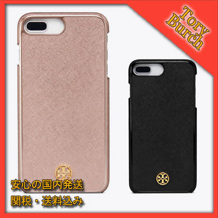 the latest c7b1b ec5a5 TORY BURCH☆ ROBINSON HARDSHELL CASE FOR iPhone8 Plus ケース