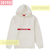 S-XL ☆ 19SS SUPREME Zip Pouch Hooded Sweatshirt