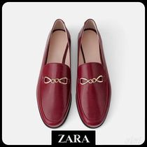 ★ZARA★ザラ  LEATHER LOAFERS
