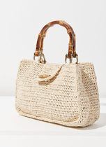 Urban Outfitters(アーバンアウトフィッターズ) かごバッグ かごバッグ Sally Straw + Bamboo Handle Bag