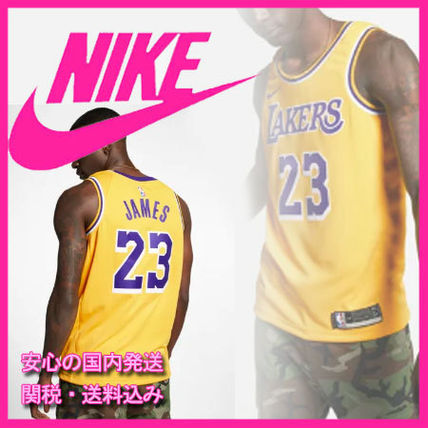 the latest beb63 e1ad3 Nike☆LeBron James Icon Edition Swingman Los Angeles Lakers