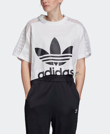 adidas Tシャツ・カットソー 【Adidas】Women's ORIGINALS CROPPED TEE / 追跡付(5)