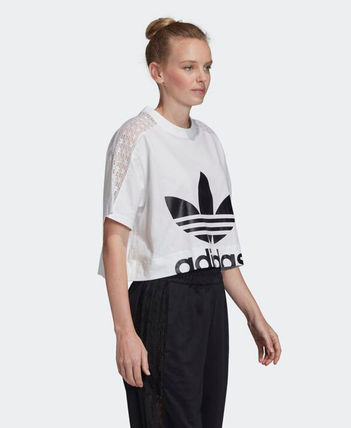 adidas Tシャツ・カットソー 【Adidas】Women's ORIGINALS CROPPED TEE / 追跡付(8)