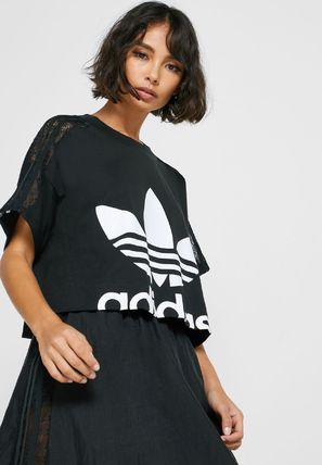 adidas Tシャツ・カットソー 【Adidas】Women's ORIGINALS CROPPED TEE / 追跡付(13)