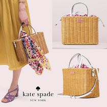 NEW! 関税・送料込&追跡有★kate spade New York★かごバッグ