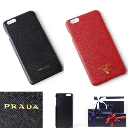 PRADA iPhone・スマホケース 【国内発送】PRADA 1ZH007 iPHONE6 Plus/6S Plusケース
