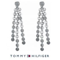 TOMMY HILFIGER ハンギングディスクピアス