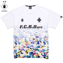 送料無料!BAPE x F.C.Real Bristol GAME SHIRT