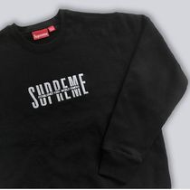 ★ Supreme ★ FW18 Week7 ★ World Famous Crewneck   Black