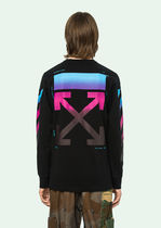 OFF-WHITE DIAG GRADIENT L/S TEE カットソー ロンT