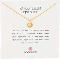 Dogeared ドギャード ネックレス Reminder Let Your Bright