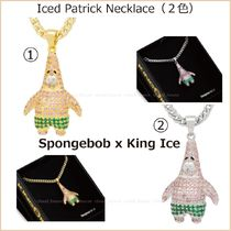 【SpongeBob x King Ice】Iced Patrick ネックレス(2色)国内発送