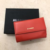 【Jil Sander】2019SS新作 BABY WALLET 三つ折り (Red)