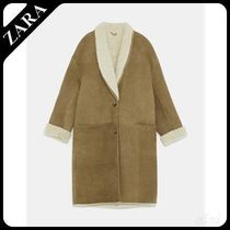 ★ZARA★ザラ  LIMITED EDITION DOUBLE-SIDED LEATHER COAT